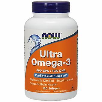 Nyt Elintarvikkeet Ultra Omega -3, 180 Sgels
