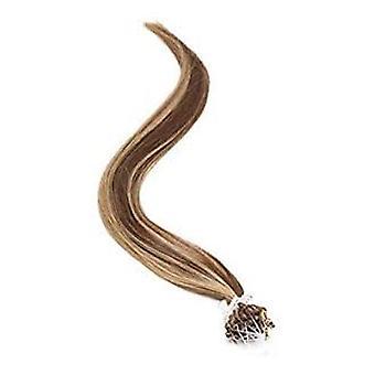 الكبرياء الأمريكي مايكرو خاتم الإنسان الشعر تمديد 18 بوصة - البرونزية الداكنة