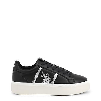 Us polo assn. 4179s0 women's synthetic leather sneakers