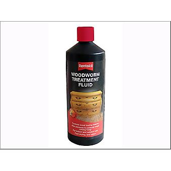 Rentokil Woodworm Treatment Fluid 1L PWT100