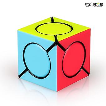 Uusi myydyin Qiyi Six Spot Speed Magic Cube Professional Fangyuan Puzzle