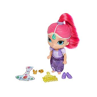 Shimmer & shine, shimmer 6 inch doll, pink hair and accessories shimmer doll