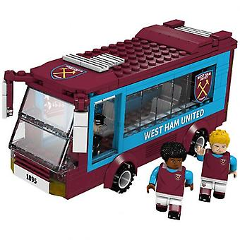 West Ham United Brick Team Bus