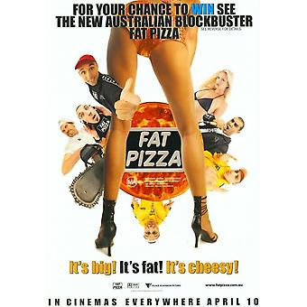 Fat Pizza Movie Poster (11 x 17)