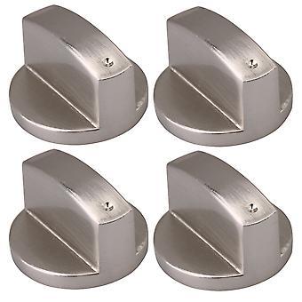 Zinklegering 2Pair Børstet Gas Komfur Kontrol Knob til komfur Ovn osv.8mm