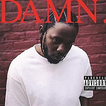 Kendrick Lamar - importación de Estados Unidos maldito [vinilo]