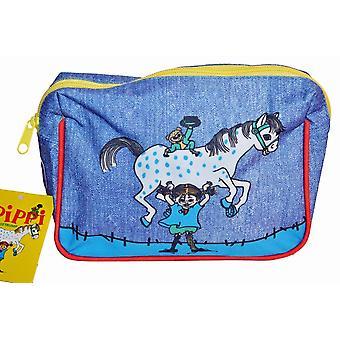 Wc-laukku Pippi Pitkätossu - Sininen