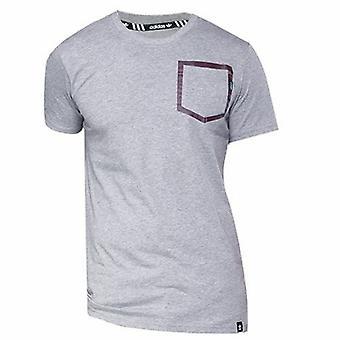 Adidas Cep Anahat Gri Maroon Erkek Kaykay T-Shirt AY8873 DD18