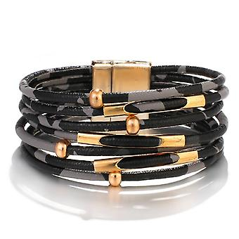 Multilayer Leather Bracelets
