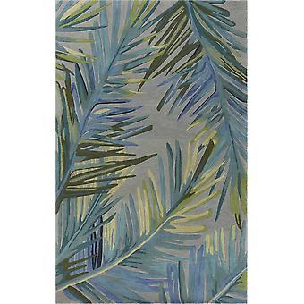 3' x 6' Villan harmaa tai sininen aluematto