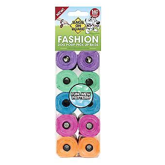 Tasker om bord Fashion Plastic Hund Poo Tasker (pakke med 10)