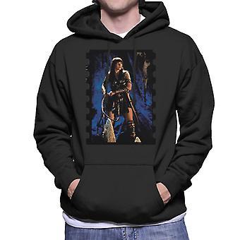 Xena Warrior Princess The Cave Men's Hooded Sweatshirt