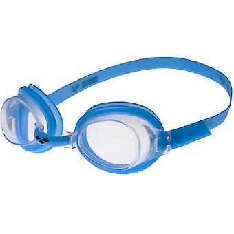 Arena Bubble 3 Junior Swim Goggle - Clear Lens - Light Blue Frame