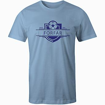 Forfar Athletic 1885 Established Badge Football T-Shirt