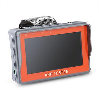 4,3 tuuman HD AHD CCTV Tester -näyttö AHD 1080P Kamera testaus PTZ UTP kaapelitestaaja 12V1A lähtö