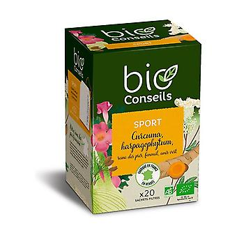 Organic Sport Infusion 20 packets