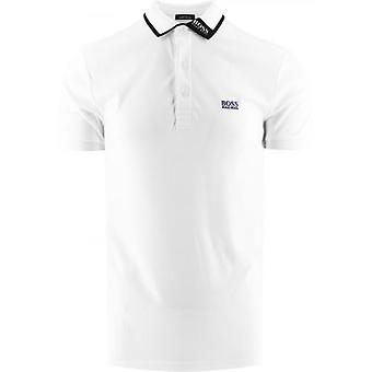 BOSS White Paule 1 Polo Shirt