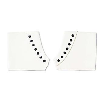 Accessorio spats bianco per abito fantasia