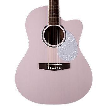 Cort akustis-sähköinen pieni body jade sarjan akustinen kitara, (avoin huokonen violetti)