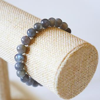 Bracelet En Labradorite – Perles 8mm