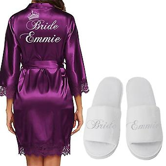 Wedding Bride Bridesmaid Robes Bachelorette