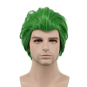 Suicide Squad Cosplay Wigs Joker Short Synthetic Hair Wigs