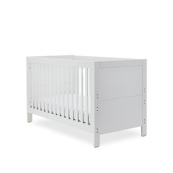 Ickle Bubba Grantham Cot Bed Pocket Sprung Mattress - Brushed White
