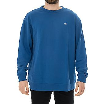 Sweat-shirt homme tommy jeans tjm tommy classics crew dm0dm05496.434