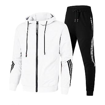 Gym Sportswear, Men Running Suits, Hooded Sport Sets, Tracksuit Fitness,