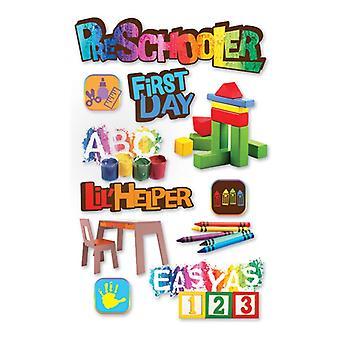 Paper House Productions - 3D Stickers - Pre-Schooler