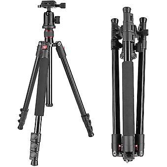 HanFei Alluminum Legierung 158 Zentimeter Kamera-Stativ mit 360 Grad Kugelkopf, 1/4 Zoll