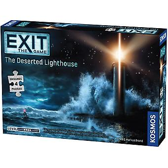EXIT The Deserted Lighthouse (Includes Puzzles) Board Game