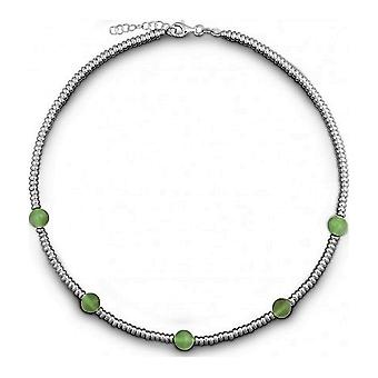 QUINN - Halskette - Damen - Silber 925 - Edelstein - Fluorit - 27169394