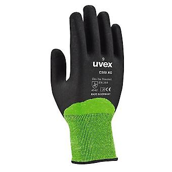 Guanti di UVEX 60600 dimensione 10 C500 XG Lime/antracite
