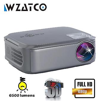 CT58 Native 1080P 4K LED Projector Android 9.0