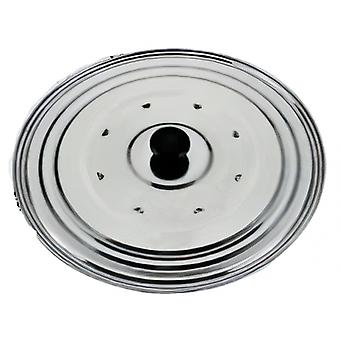 pot lid 16 - 21 cm chrome-plated stainless steel