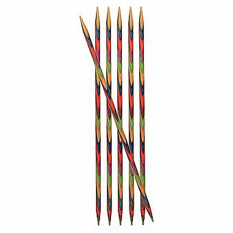 KnitPro Symfonie: Knitting Pins: Double-Ended: Set of 6: 10cm x 2.00mm