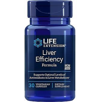 Estensione della vita Formula efficienza epatica Vegicaps 30