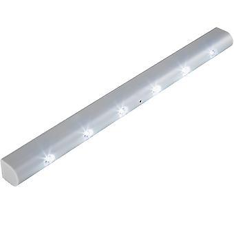 tectake LED Lys på liste med bevægelsessensor - grå