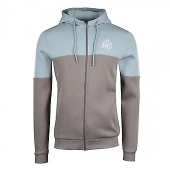 Kings Will Dream Farnell Blue/Grey Zip Up Hoody Sweatshirt