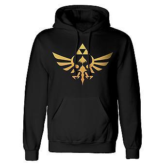 Zelda Mens Hyrule Logo Pullover Hoodie