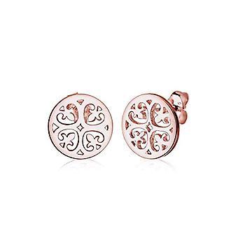 Elli Earrings Ornament Women's Oriental Watermark in Silver 925