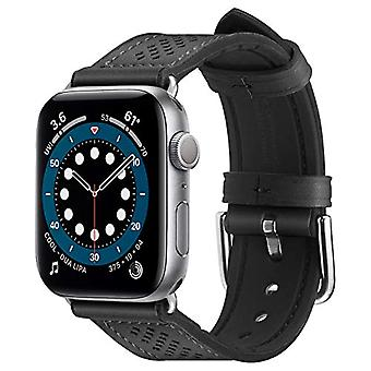 Spigen Retro Fit Compatible with Apple Watch 40mm Strap Series 6/SE/5/4 and 38mm Series 3/2/1 - Black
