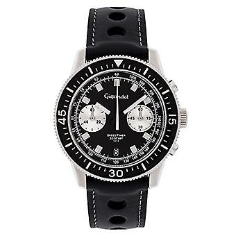 Gigandet G7-005 - Men's watch, leather strap, color: black