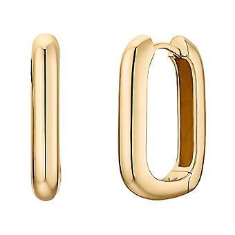 NOELANI Silver hoop earrings 925(4)