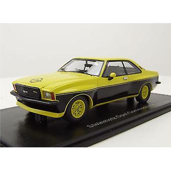 Opel Commodore B stenhuggare Edition kåda modell bil