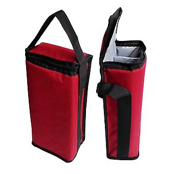Insulated Wine Carrier Tote Travel Bag Wine