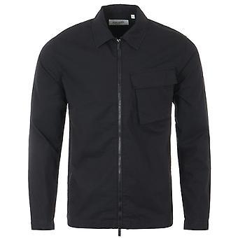 Lyle & Scott Zip Pocket Overshirt - Black