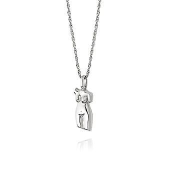 Daisy Vita Sterling Silver Necklace AN03_SLV