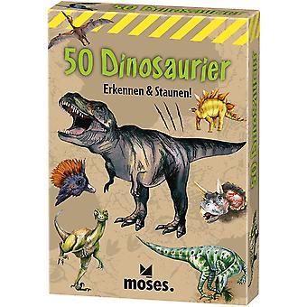 40212 50 Dinosaurier: Erkennen & Staunen!